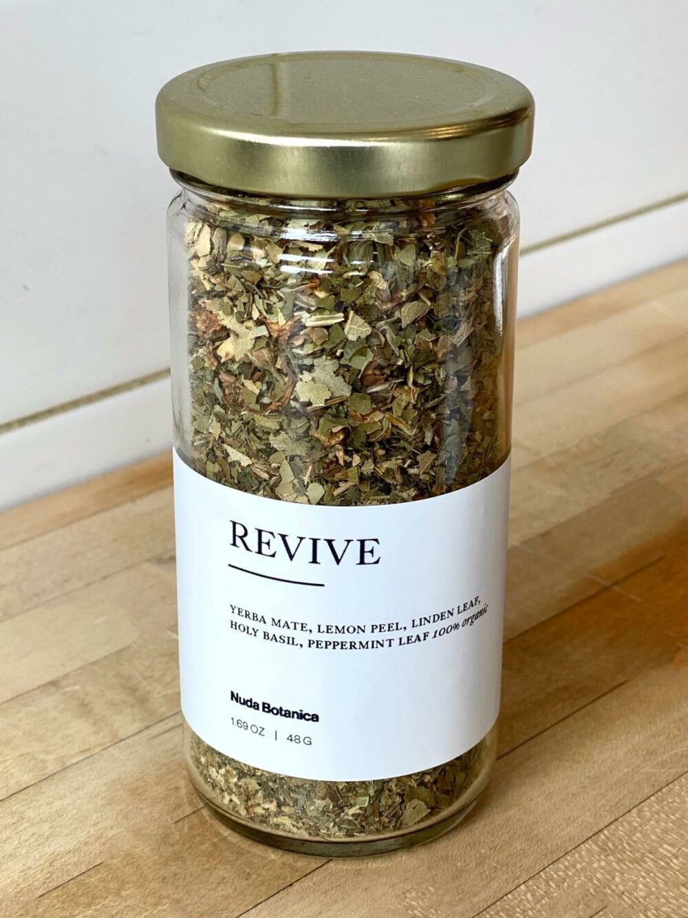 Nuda Botanica Revive Tea