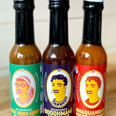 Shaquanda Will Feed You Hot Sauce Bottles