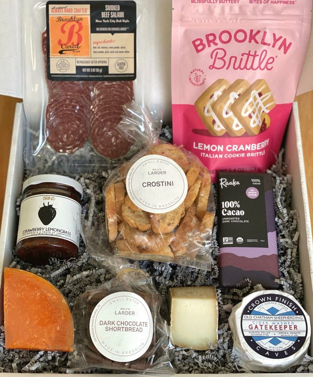 Food in gift box