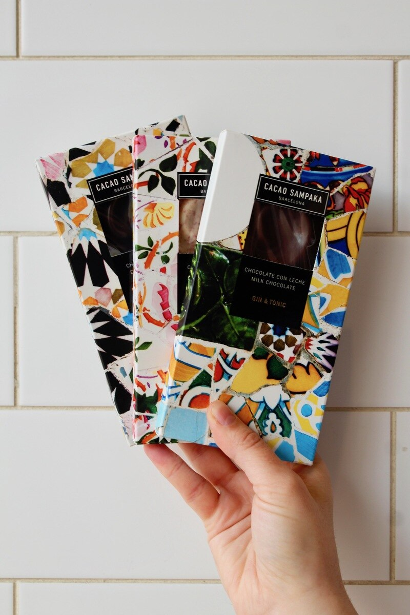 packaged chocolate bars